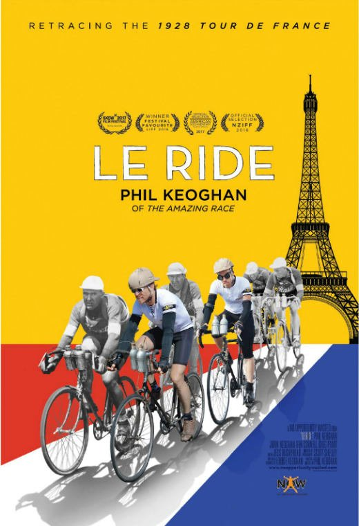 Le Ride DVD Poster